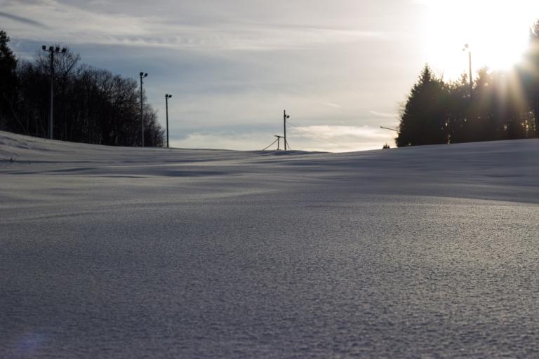 snow-field