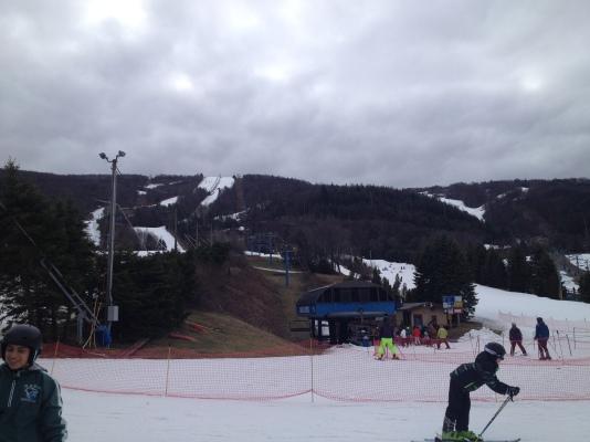 Sunday on the slopes.
