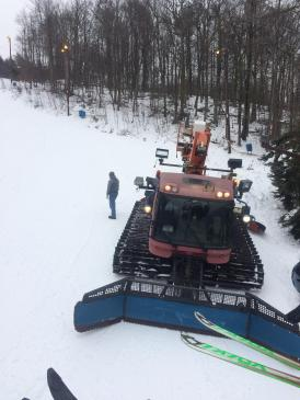 Chairlift view.